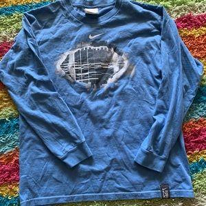 Boys Nike Long Sleeve Shirt Size Large